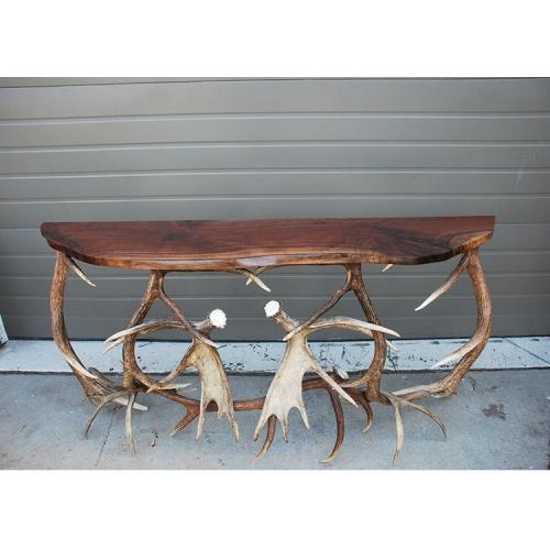 鹿角玄關桌2